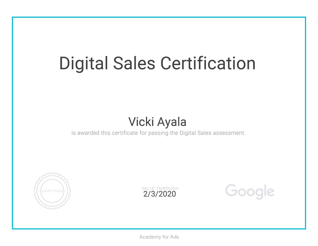 I am certified in google adwords analytics constant contact google analytics 1betcityfo Gallery